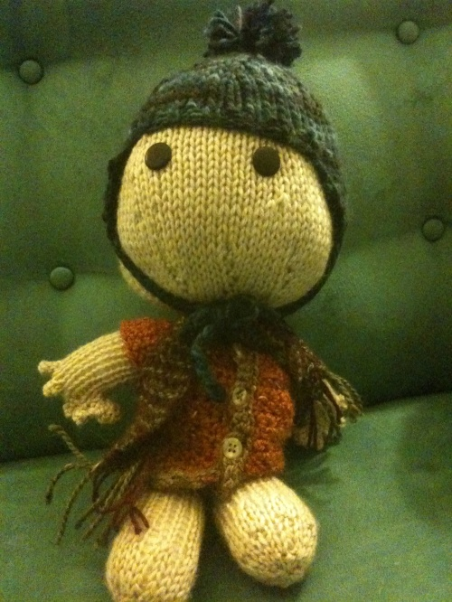 Sackboy doll with jacket & hat